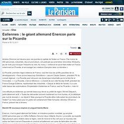 Eoliennes : le géant allemand Enercon parie sur la Picardie - 08/12/2011