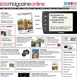 EOS magazine for Canon SLR owners