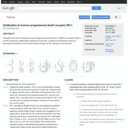 Antibodies to human programmed death receptor PD-1