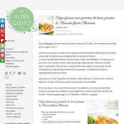 Crêpe épaisse aux pommes de terre, poireau & Boursin façon Chanciau -