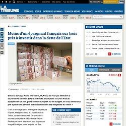 Crise de l'euro : les Français ne sont pas prêt à acheter la dette de l'Etat