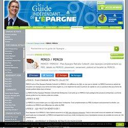 PERCO / PERCOI : Plan Epargne Retraite Collectif