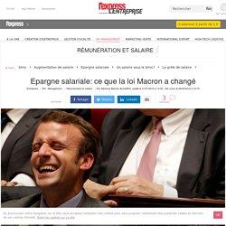 Epargne salariale: ce que la loi Macron a changé