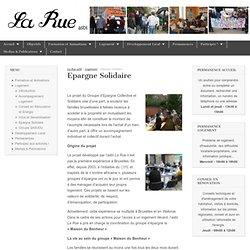 Epargne Solidaire - La Rue asbl - 1080 Molenbeek