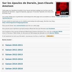 Sur les épaules de Darwin, Jean-Claude Ameisen