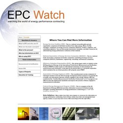 EPC Watch - Concepts