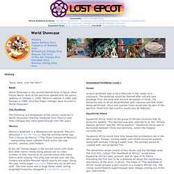LOST EPCOT - World Showcase - History