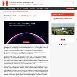 L'EPFL décrypte les réseaux sociaux