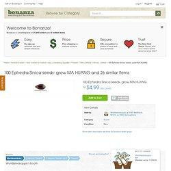 100 Ephedra Sinica seeds- grow MA HUANG and 26 similar items - Bonanza