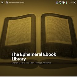 The Ephemeral Ebook Library