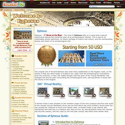 Ephesus - Guide, Pictures, Tours, 360 degree Virtual Tours