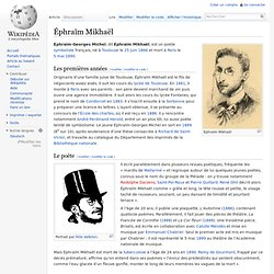 Éphraïm Mikhaël