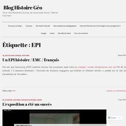 EPI – Blog Histoire Géo