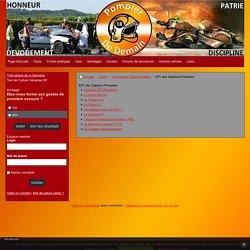 EPI des Sapeurs-Pompiers