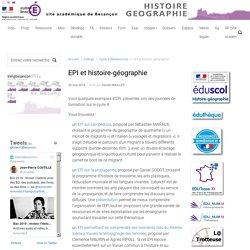 EPI et histoire-géographie