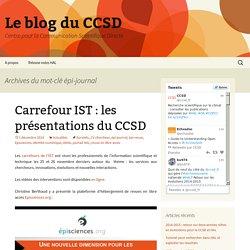 Le blog du CCSD