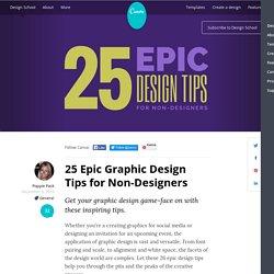 25 Epic Design Tips for Non-Designers