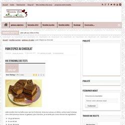 pain d'epice au chocolat