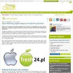 L'épicerie polonaise qui met Apple en colère