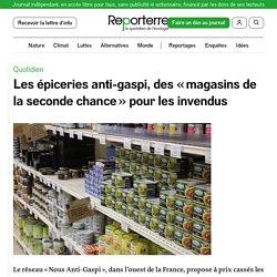 REPORTERRE 14/01/20 Les épiceries anti-gaspi, des « magasins de la seconde chance » pour les invendus
