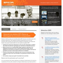 Solutions Software for ERP