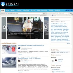 EpicSki - The Site For Dedicated Skiers