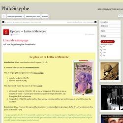 Epicure → Lettre à Ménécée – PhiloSisyphe