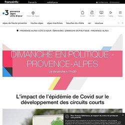 FRANCE 3 PACA 09/10/20 L'impact de l'épidémie de Covid sur le développement des circuits courts