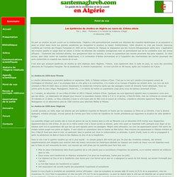 Les épidémies de choléra en Algérie au cours du 19ème siècle