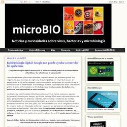 BLOG MICROBIO 02/07/16 Epidemiología digital: Google nos puede ayudar a controlar las epidemias