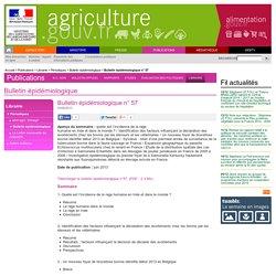 Bulletin épidémiologique n° 57
