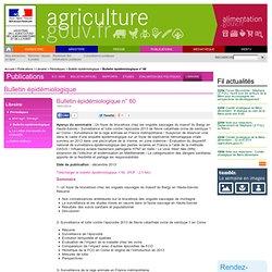 MAAF/ANSES 15/01/14 Bulletin épidémiologique n° 60 Influenza aviaire hautement pathogène H7N7 en Italie