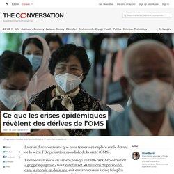 Ce que lescrises épidémiques révèlent desdérives del'OMS
