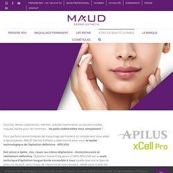 EPILATION HAUTE FRÉQUENCE® 27 MHz - MAUD Dermo-Esthetic®