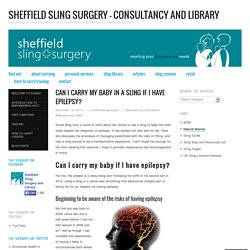 Sheffield Sling Surgery - Consultancy and Library