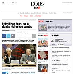 Didier Migaud épinglé par sa chambre régionale des comptes