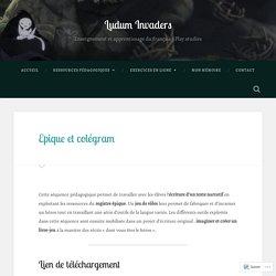 Epique et colégram – Ludum Invaders