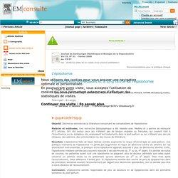 Complications immédiates et à long terme de l'épisiotomie