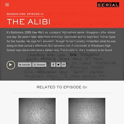 Episode 01: The Alibi - Serial
