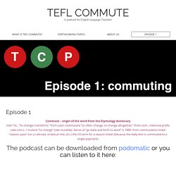 TEFL COMMUTE