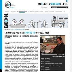 épisode 16 — La WebRadio de l'Institut Français de l'Éducation