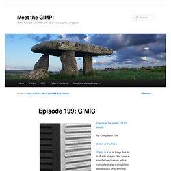 Episode 199: G'MIC   Meet the GIMP!