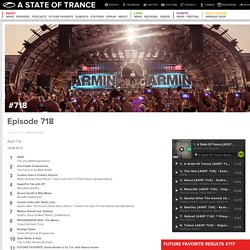 Episode 718 « A State of Trance