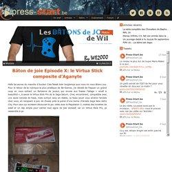 Bâton de joie Episode X: le Virtua Stick composite d'Aganyte