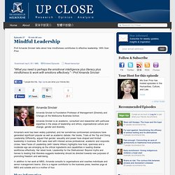 Episode 27: Mindful Leadership | Up Close Podcast