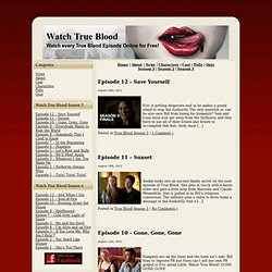 Watch True Blood Episodes Streaming Online for Free | Watch-True-Blood.com