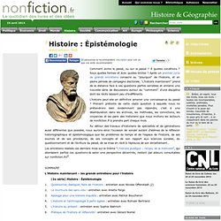 Histoire : Épistémologie
