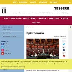 Epistocrazia - Tessere