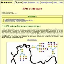 EPO et dopage