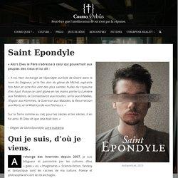 Saint Epondyle, blogueur culturel & archange des Internets